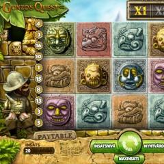 Spelautomater på nätet - Gonzo's Quest